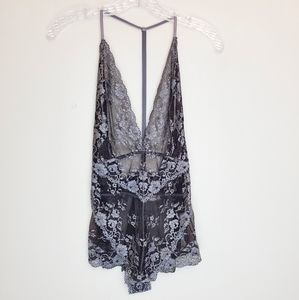 Free People Bodysuit Too Cute to Handle small A